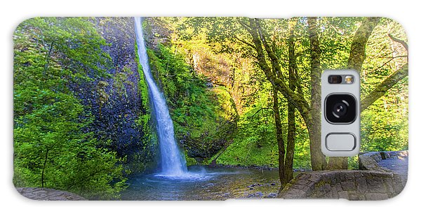 Galaxy Case featuring the photograph Horesetail Falls by Jonny D