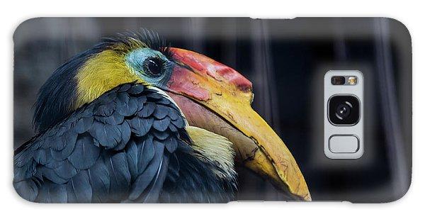 Galaxy Case featuring the photograph Hornbilled Bird by Scott Lyons