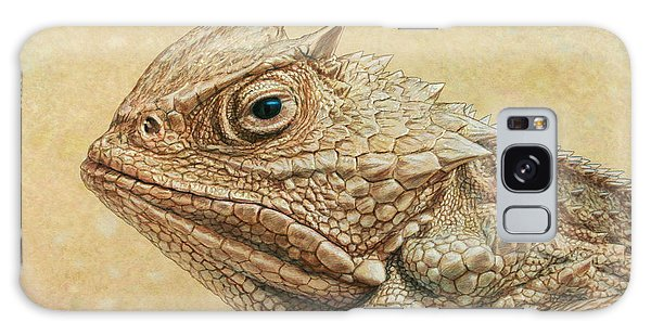 Wildlife Galaxy Case - Horned Toad by James W Johnson