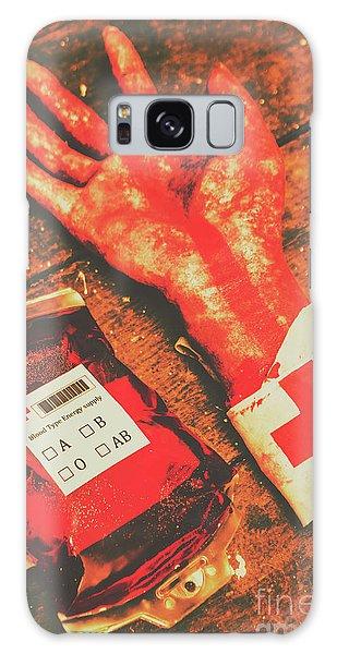 Body Parts Galaxy Case - Horror Hospital Scenes by Jorgo Photography - Wall Art Gallery
