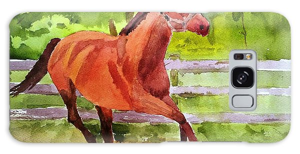 Horse #3 Galaxy Case