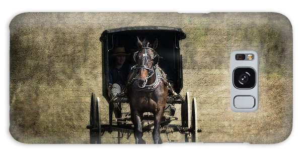 Berlin Galaxy S8 Case - Horse And Buggy by Tom Mc Nemar