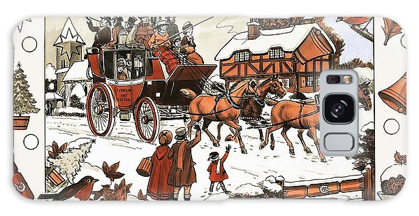 Whip Galaxy Case - Horse And Carriage In The Snow by English School