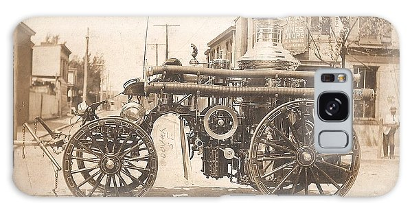 Horse Drawn Fire Engine 1910 Galaxy Case