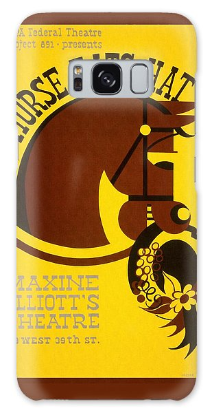 Horse Eats Hat - Maxine Elliot's Theatre - Vintage Poster Restored Galaxy Case