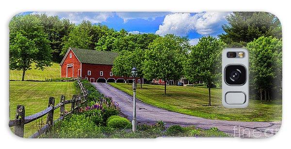 Horse Farm In New Hampshire Galaxy Case