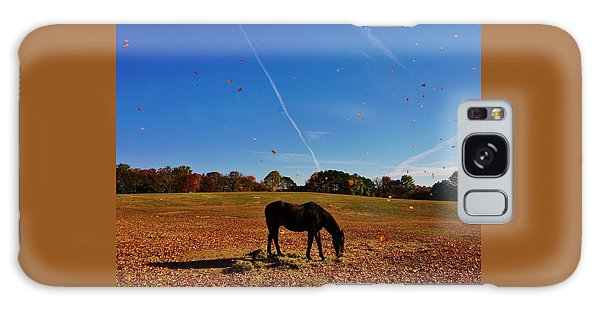 Horse Farm In The Fall Galaxy Case by Ed Sweeney