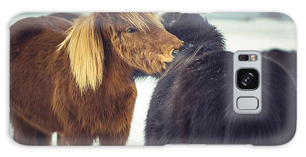 Horse Friends Forever Galaxy Case