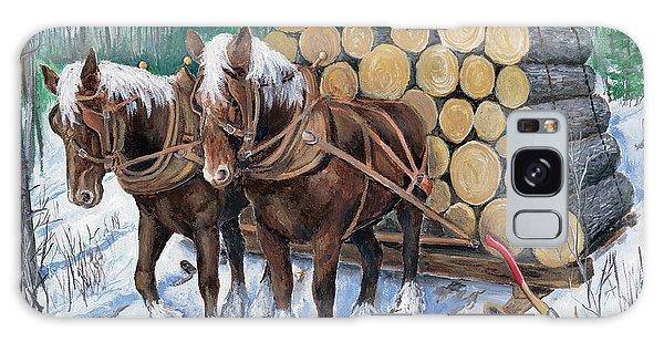 Horse Log Team Galaxy Case