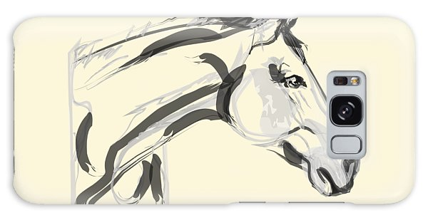 Horse - Lovely Galaxy Case