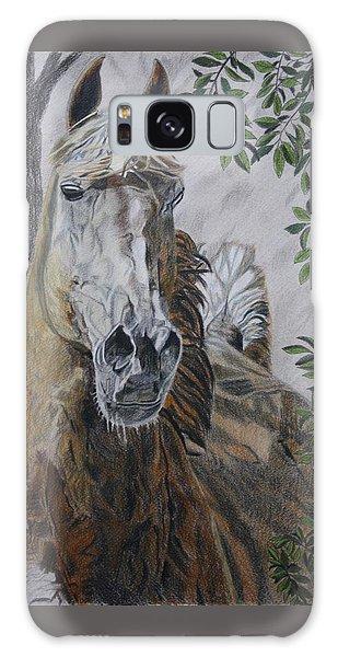 Horse Galaxy Case by Melita Safran