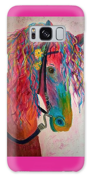 Horse Of A Different Color Galaxy Case
