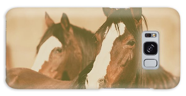 Galaxy Case featuring the photograph Horse Portrait by Ana V Ramirez