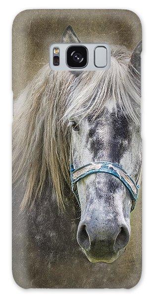 Equine Galaxy Case - Horse Portrait I by Tom Mc Nemar