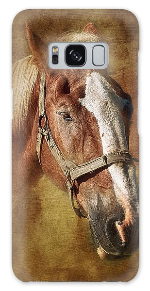 Equine Galaxy Case - Horse Portrait II by Tom Mc Nemar