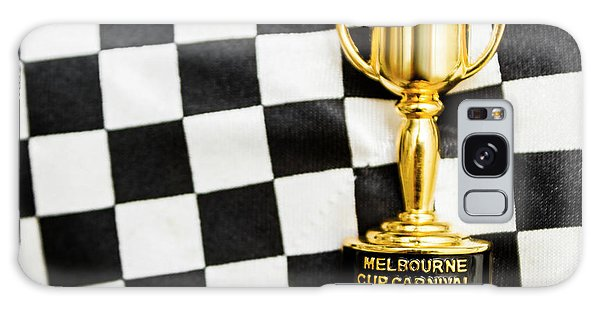 Race Galaxy Case - Horse Races Trophy. Melbourne Cup Win by Jorgo Photography - Wall Art Gallery