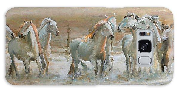 Horse Reflection Galaxy Case by Vali Irina Ciobanu