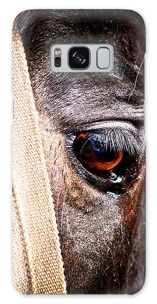 Horse Tears Galaxy Case