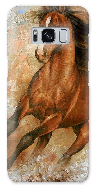 Wildlife Galaxy Case - Horse1 by Arthur Braginsky