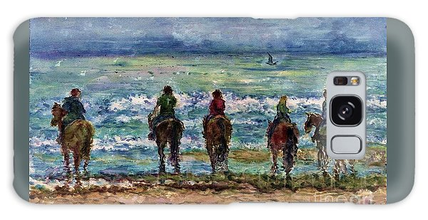 Horseback Beach Memories Galaxy Case