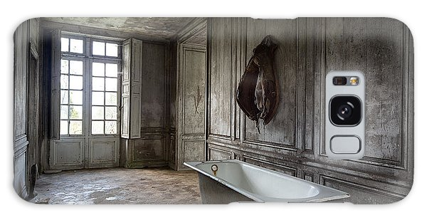 Horseback Rider Bath Tub - Urban Exploration Galaxy Case by Dirk Ercken