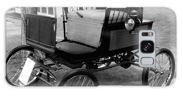 Horseless Carriage-bw Galaxy Case