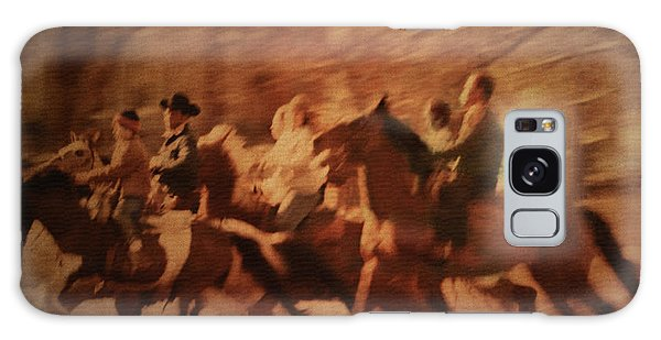 Horses In Motion  Galaxy Case