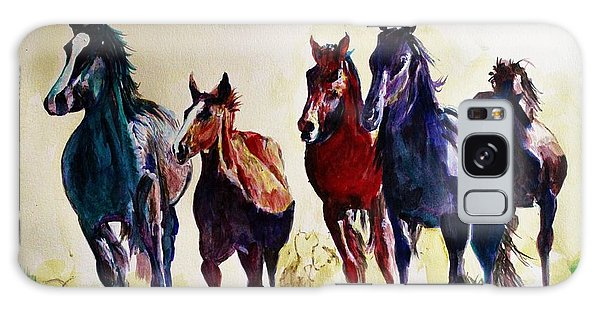 Horses In Wild Galaxy Case