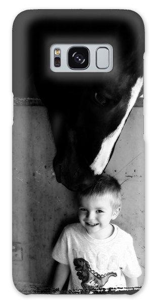 Horses Love Galaxy Case