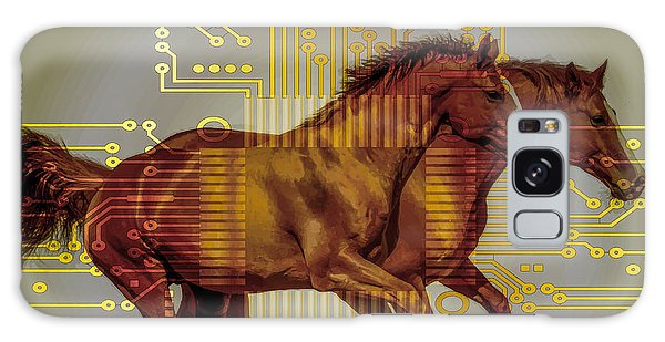 The Sound Of The Horses. Galaxy Case