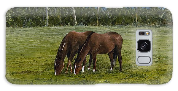 Horses Of Romance Galaxy Case