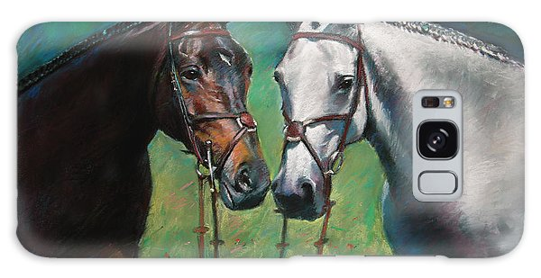 White Horse Galaxy S8 Case - Horses by Ylli Haruni