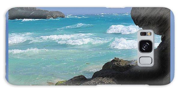 Horseshoe Bay Rocks Galaxy Case