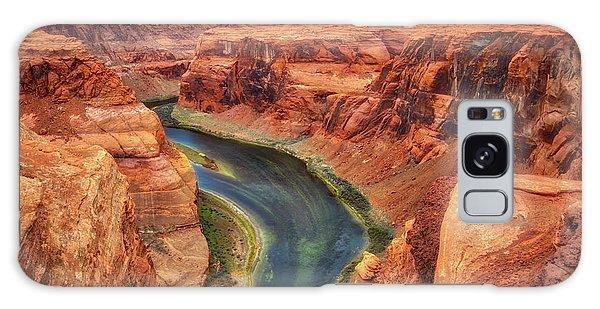 Horseshoe Bend Arizona - Colorado River #2 Galaxy Case by Jennifer Rondinelli Reilly - Fine Art Photography
