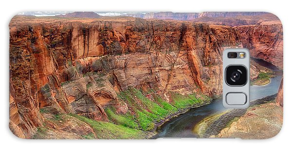 Horseshoe Bend Arizona - Colorado River #5 Galaxy Case by Jennifer Rondinelli Reilly - Fine Art Photography