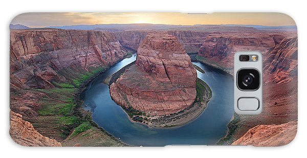 Horseshoe Bend Colorado River Arizona Galaxy Case