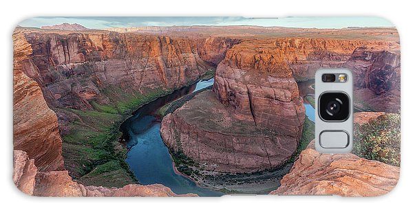 Horseshoe Bend Morning Splendor Galaxy Case