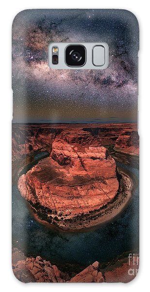 Horseshoe Bend With Milkyway Galaxy Case