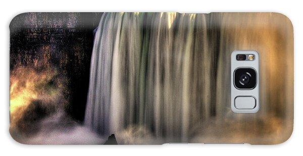 Horseshoe Falls Early Autumn No 03 Galaxy Case