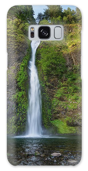 Horsetail Falls In Spring Galaxy Case by Greg Nyquist
