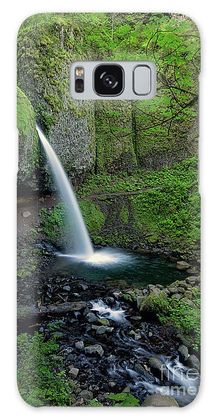 Horsetail Falls Waterfall Art By Kaylyn Franks Galaxy Case
