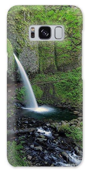 Horsetail Falls Waterfall Art By Kaylyn Franks Galaxy Case