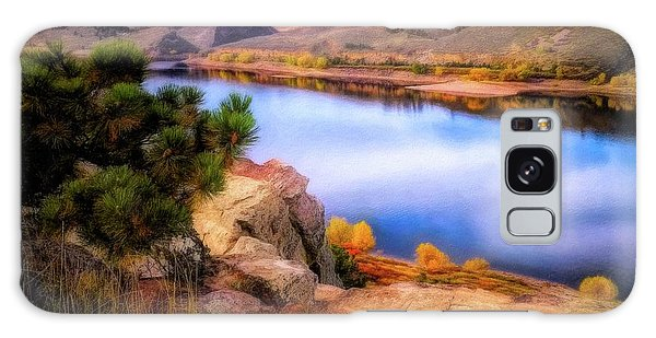 Horsetooth Lake Overlook Galaxy Case
