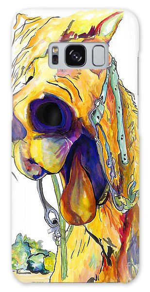 White Horse Galaxy Case - Horsing Around by Pat Saunders-White