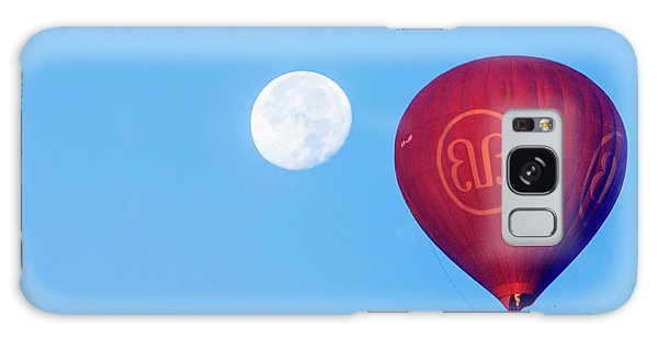 Hot Air Balloon And Moon Galaxy Case