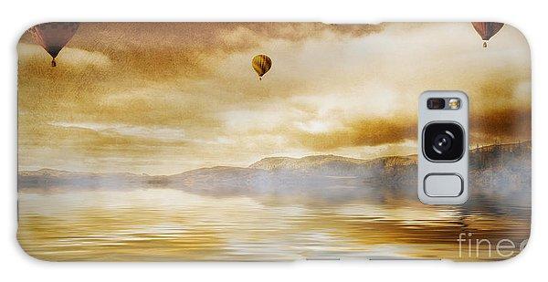 Hot Air Balloon Escape Galaxy Case