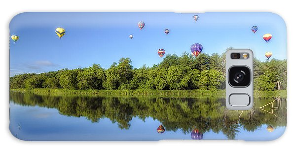 Quechee Balloon Fest Reflections Galaxy Case