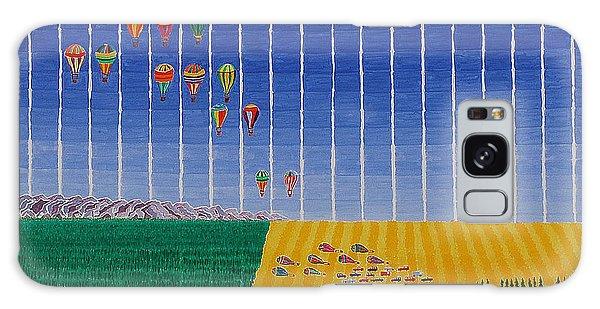 Hot Air Balloon Party Galaxy Case