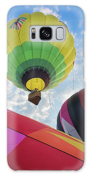 Hot Air Balloon Takeoff Galaxy Case