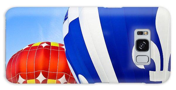 Hot Air Balloons Close-up Galaxy Case by Nicolas Raymond